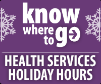 Non-Emergency Holidays Hours Page